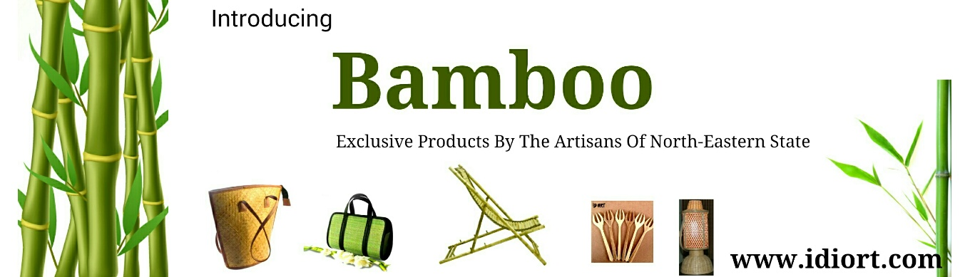 Bamboo lamps, lanterns, cutlery, bags, furniture